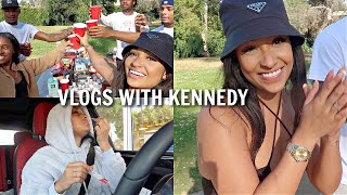 WEEKLY VLOG: COOKOUT VIBES WITH FRIENDS, PREPARING FOR SECRET TRIP + MORE!