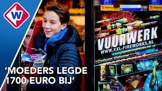 Jongen koopt voor 2.000 euro vuurwerk