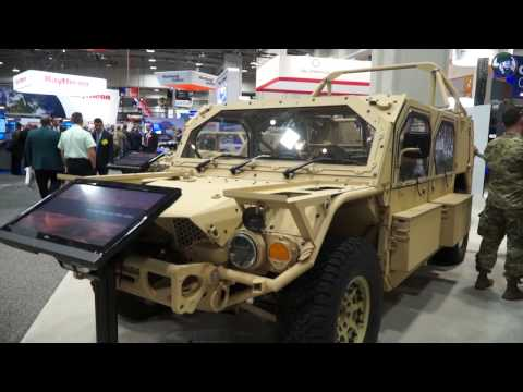 Flyer 72 Advanced Light Strike Special Forces Vehicle General Dynamics AUSA 2016 United States defen