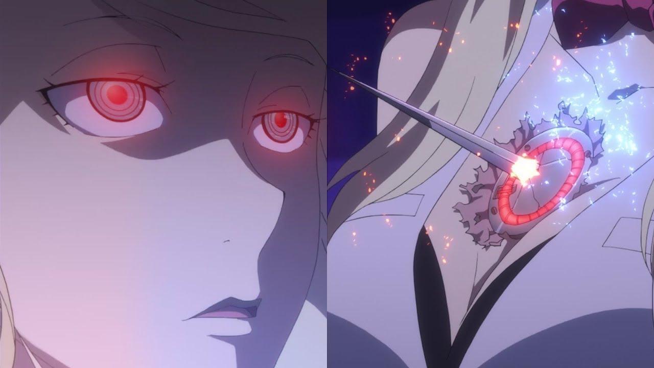 Anime robot girl broken scene #9