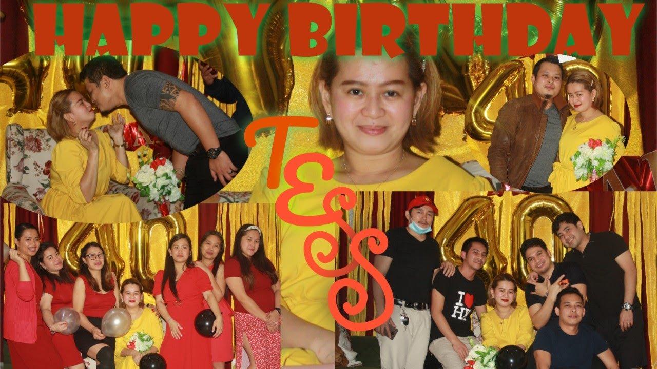 #HappyBirthday#BirthdayCelebration Birthday Celebration Tess @40, Happy Birthday...