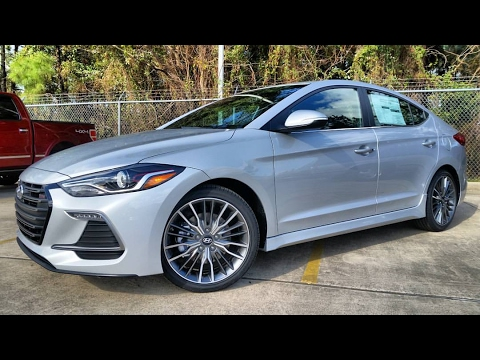2017 Hyundai Elantra Sport 1.6T Start Up/ In-Depth Review