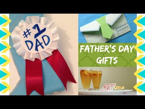DIY Simple Last minute Father's Day Gifts | Peach Iced TEA!!! :D