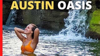 ⭐️ 5 STAR Rν Camping in Austin, TX | McKinney Falls State Park