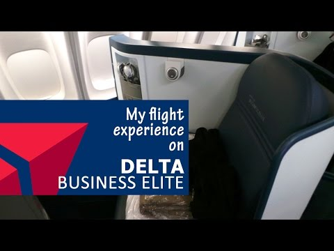 My flight experience on Delta Business Elite from Honolulu, Hawaii to Narita, Japan
