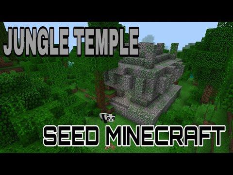 SEED JUNGLE TEMPLE | MINECRAFT