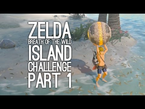 Zelda Breath of the Wild Gameplay: Let's Play BOTW Eventide Island Challenge Pt 1 - COLLECT THE ORBS