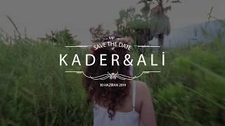 Gambar cover KADER & ALİ SAVE THE DATE