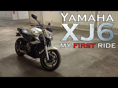 My first ride on a Yamaha XJ6