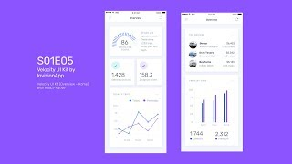 Gambar cover Velocity UI Kit - Overview / Home - React Native Tutorial