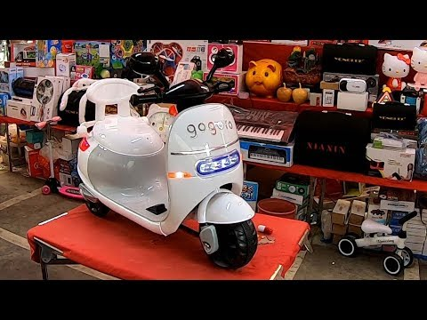 Toy car for kids to drive - Taiwan street auction