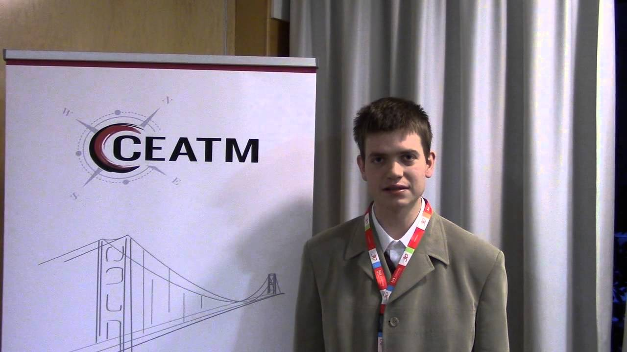 CEATM Slovenia Conference 2014 Intervju Žiga Volf 1part - YouTube