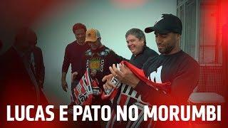 LUCAS E PATO NO MORUMBI   SPFCTV