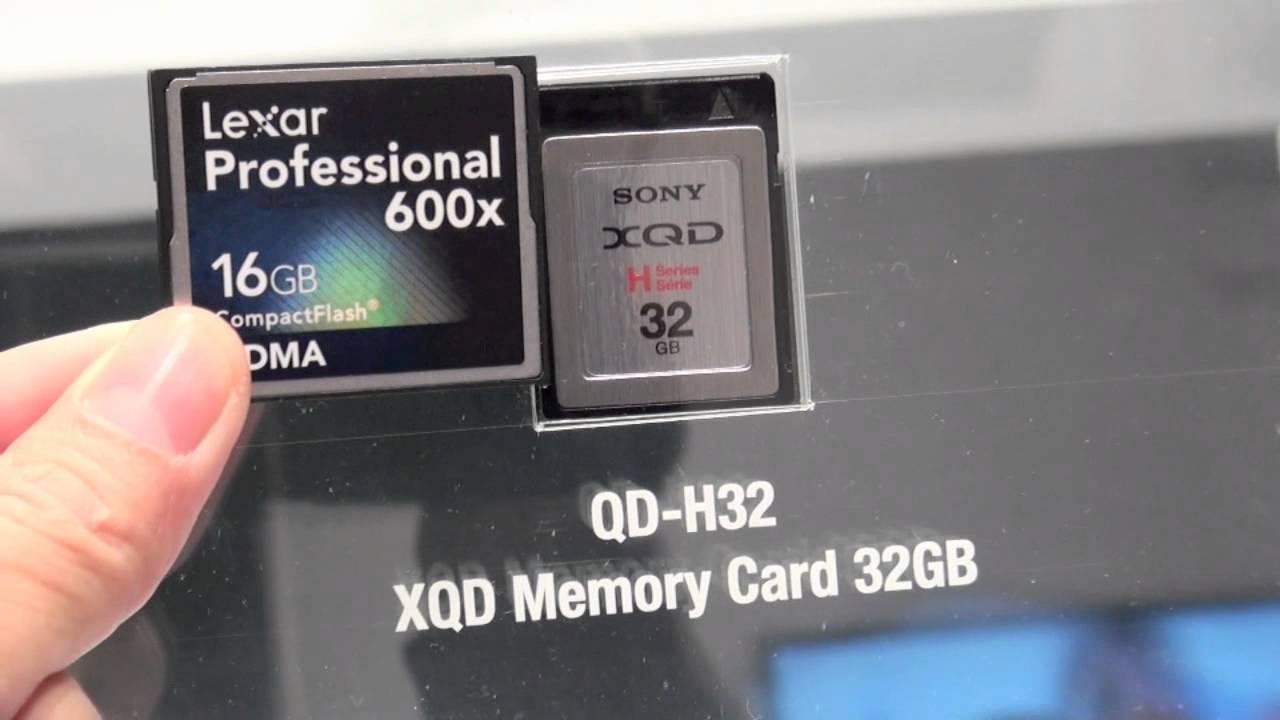 Tinhte.vn - Thẻ nhớ XQD của Sony - YouTube