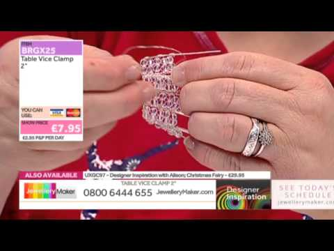 Christmas in July Show with Alison Tarry - JewelleryMaker DI LIVE 25/07/15