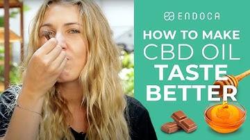 How to make CBD oil taste better | Endoca©