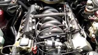 BMW E34 M60B30 В чем причина такой работы двигателя?