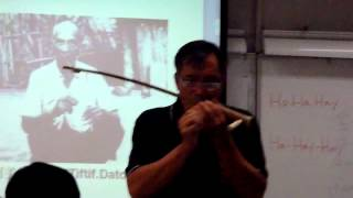 Tiftif datok, the bow harp