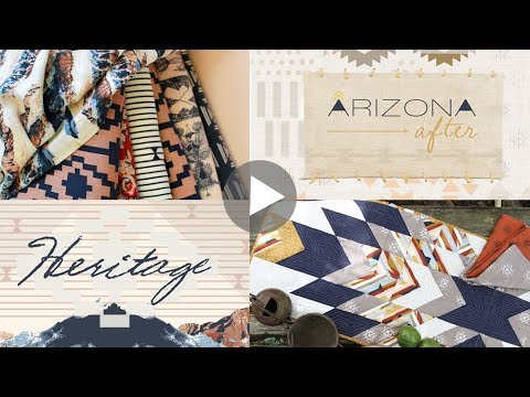 Sewing Projects made with Arizona After and Heritage Fabrics by April Rhodes