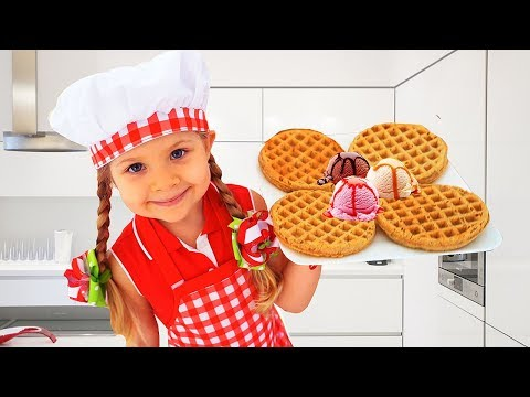 Diana Pretend Cooking With Cute Kitchen toys