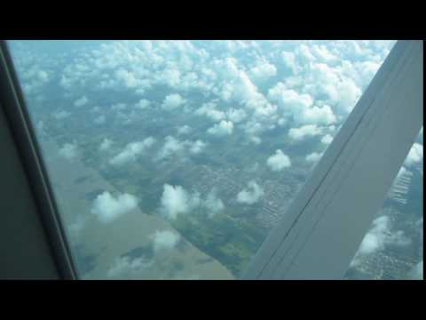 The coast of Suriname/Guyana from the air
