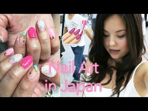Japan Vlog 7 |  Getting my nails done in Osaka, Room Tour ♡ 2016