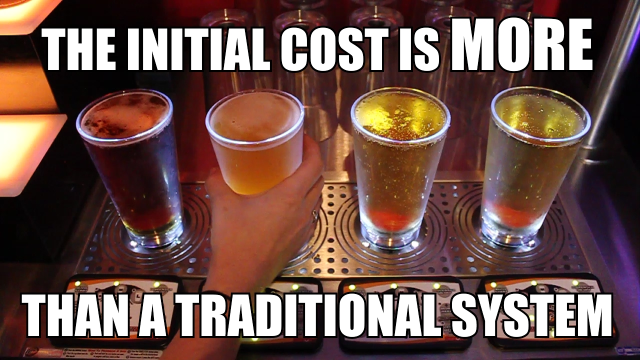 The Initial Cost it MORE than a traditional system - North Street Pub Owner Bottoms Up Testimonial