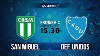 CA San Miguel vs CA Defensores Unidos full match
