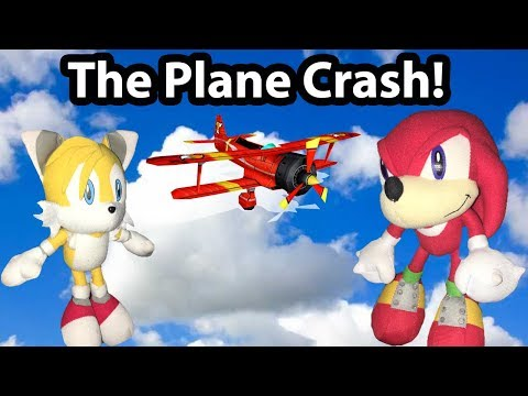 Sonic Plush Adventures- The Plane Crash!