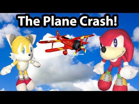 Sonic Plush Adventures - The Plane Crash!
