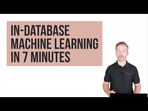 Oracle In-database Machine Learning in 7 minutes (ATP and ADWC)