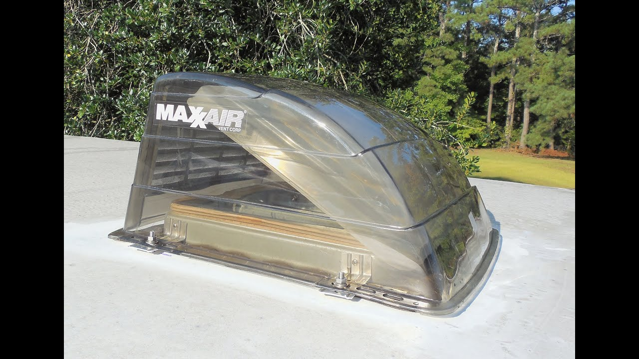 Maxxair Vent Cover For Your Rv Install 1 2 3 Youtube