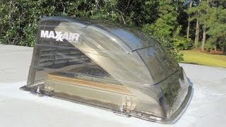 MaxxAir Vent Cover for your RV - Install 1, 2, 3