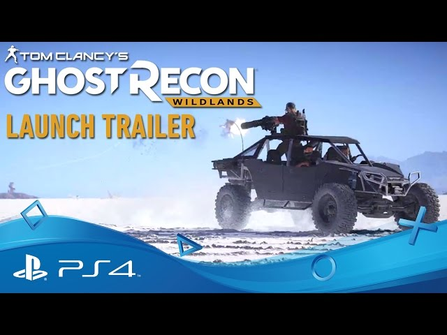 Tom Clancy's Ghost Recon Wildlands | Launch Trailer | PS4