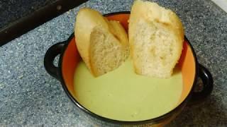 Крем-суп из брокколи. Снимаем стресс на кухне.