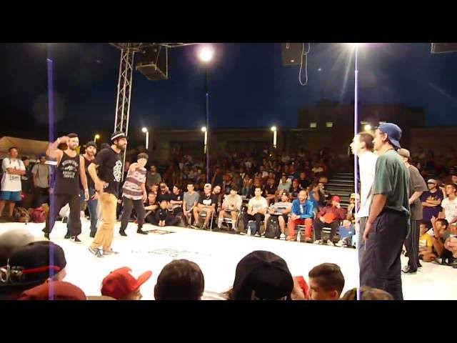 Ormus Force vs Funkobotz @Hip Hop Connection 3.0 2016