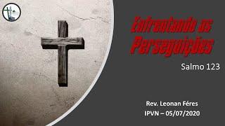 Devocional no Salmo 123 - Pr. Leonan Féres