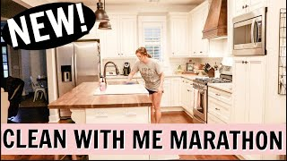 CLEAN WITH ME MARATHON 2019 | OVER 1 1/2 HOURS OF CLEANING | CLEAN THE HOUSE | Amy Darley
