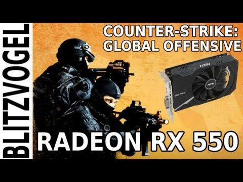 CSGO | RADEON RX 550 | 1080p Performance & Gameplay