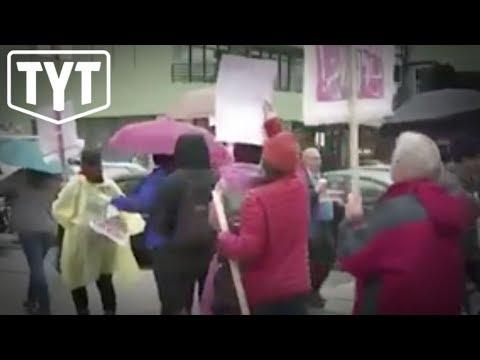 Teachers Strike Against Billionaires