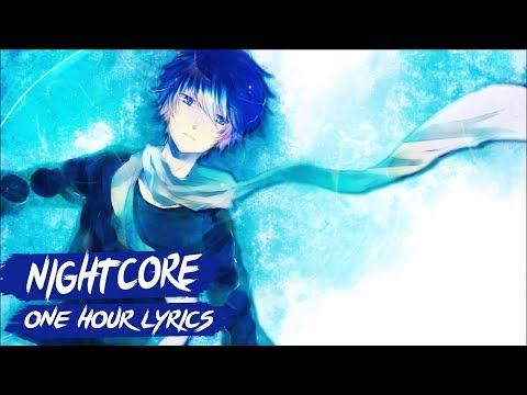 Nightcore - Blue (Da Ba Dee) | 1 Hour & Lyrics