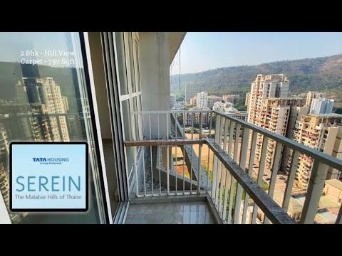 Magnificent 2 Bhk Luxurious at Tata Serein   Hill View   Selling Out Soon    Walkthrough