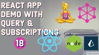 React App with useQuery and useMutation hooks  #18