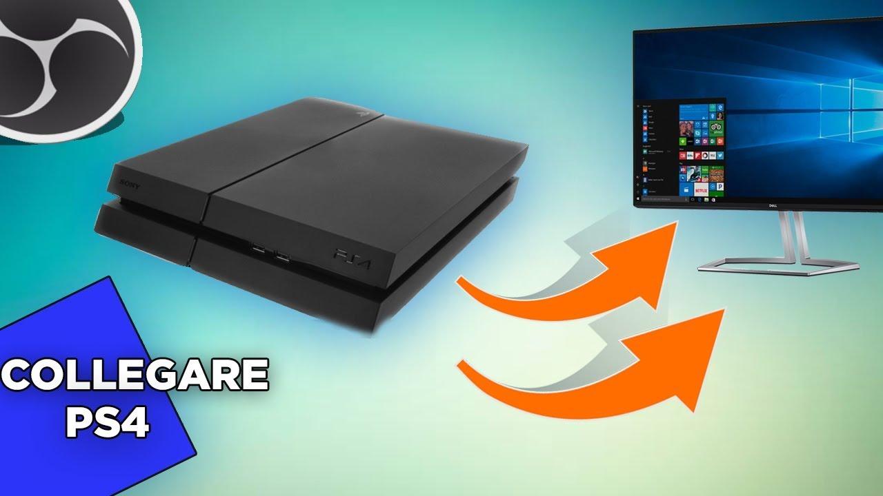 Come collegare la playstation 2 al monitor del pc?