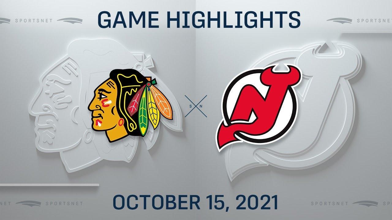 Download NHL Highlights | Blackhawks vs. Devils - Oct. 15, 2021