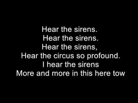Pearl Jam - Sirens (Lyric Video)