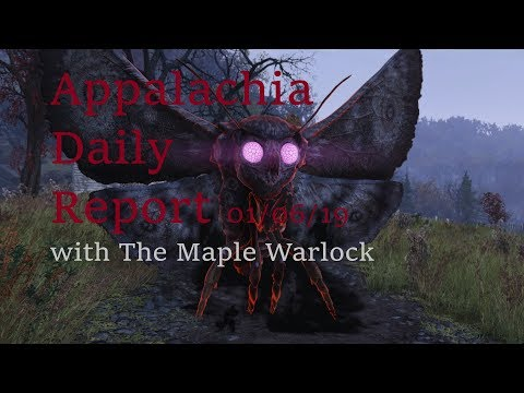 Appalachia Daily Report 01/06/19 with The Maple Warlock