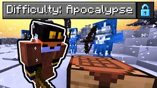 "So I made an ""Apocalypse"" Difficulty in Minecraft..."
