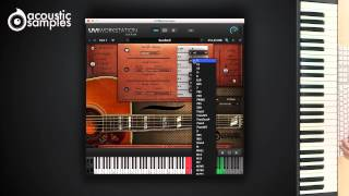 Sunbird Guitar library by Acousticsamples - Song Builder