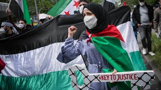 Pro-Palästinenser-Demo in Berlin